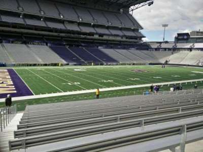 Husky Stadium, section: 132, row: 21, seat: 28