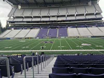 Husky Stadium, section: 128, row: 27, seat: 27