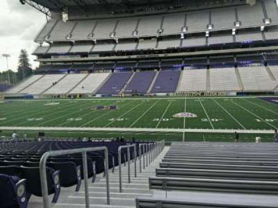 Husky Stadium, section: 127, row: 29, seat: 29