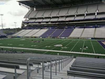 Husky Stadium, section: 126, row: 29, seat: 29