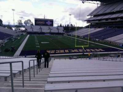 Husky Stadium, section: 119, row: 35, seat: 25