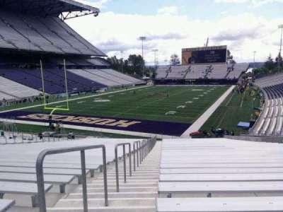 Husky Stadium, section: 115, row: 35, seat: 25