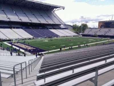 Husky Stadium, section: 111, row: 40, seat: 55