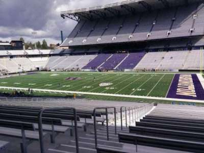 Husky Stadium, section: 102, row: 40, seat: 25
