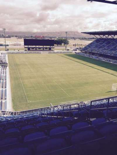 Avaya Stadium, section: 114, row: 27, seat: 20