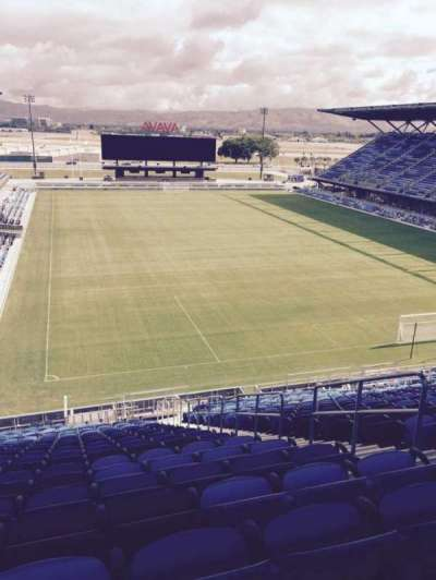 Avaya Stadium, section: 114, row: 26, seat: 5