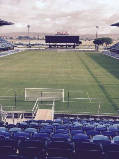 Avaya Stadium, section: 118, row: 15, seat: 12