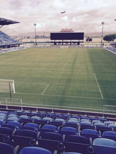 Avaya Stadium, section: 119, row: 12, seat: 6