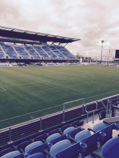 Avaya Stadium, section: 124, row: 5, seat: 8