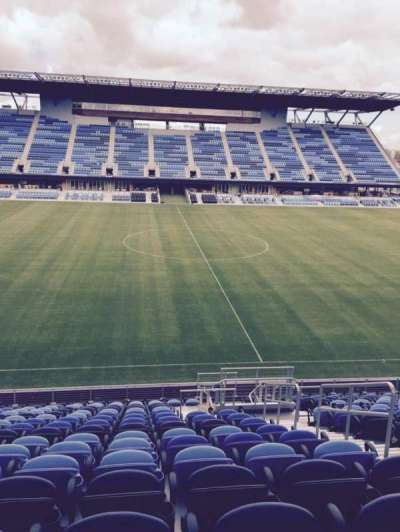 Avaya Stadium, section: 128, row: 16, seat: 4