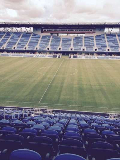 Avaya Stadium, section: 130, row: 22, seat: 9