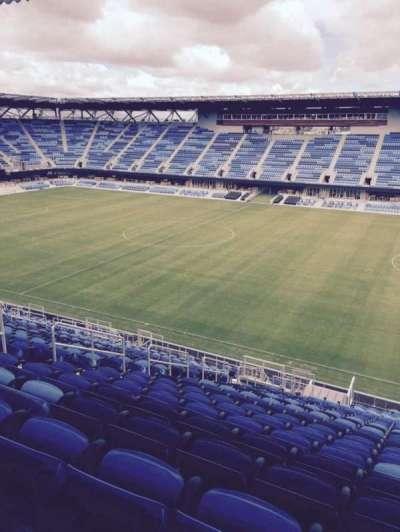 Avaya Stadium, section: 133, row: 25, seat: 8