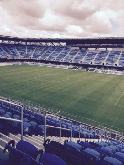 Avaya Stadium, section: 134, row: 21, seat: 21