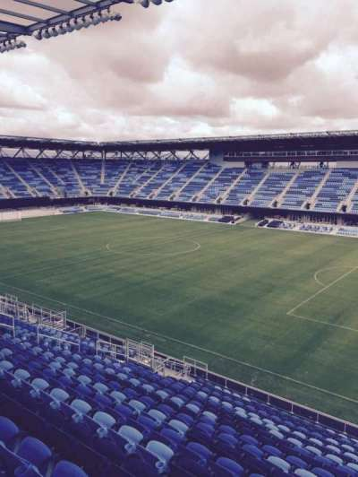 Avaya Stadium, section: 134, row: 21, seat: 2