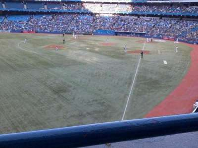Rogers Centre, section: 238L, row: 1, seat: 105