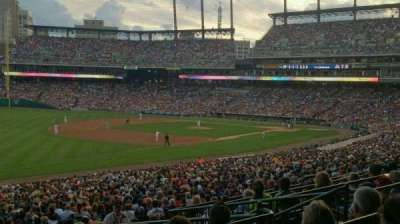 Comerica Park section 140