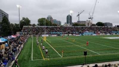 Lamport Stadium, section: West, row: 5