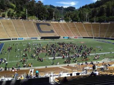California Memorial Stadium, section: F, row: 45, seat: 24