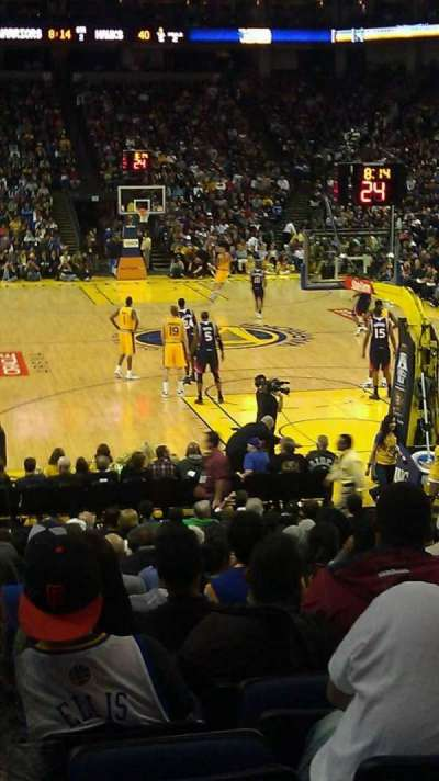 Oracle Arena section 122