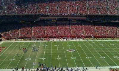 Arrowhead Stadium, section: 302, row: 23, seat: 12