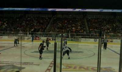 Intrust Bank Arena, section: 103, row: F, seat: 5