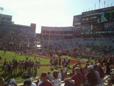 Bobby Bowden Field at Doak Campbell Stadium, section: 9, row: 10, seat: 19