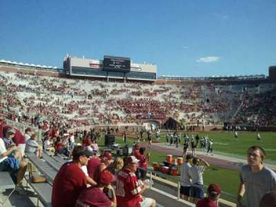 Bobby Bowden Field at Doak Campbell Stadium section 9