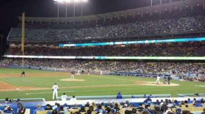 Dodger Stadium, section: 25FD, row: O, seat: 1