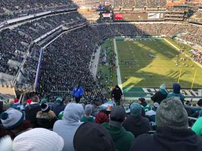 Lincoln Financial Field section 209