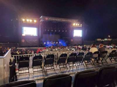 FivePoint Amphitheater, section: 304, row: 3, seat: 71-72