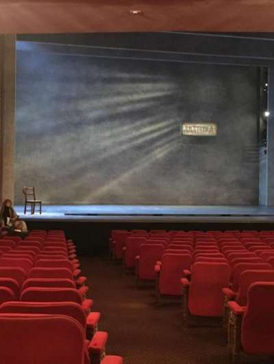 Broadway Theatre - 53rd Street, section: Orchestra Left, row: T, seat: 2