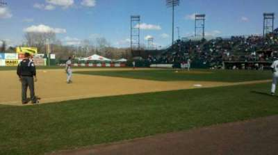 New Britain Stadium, section: 117, row: A, seat: 5
