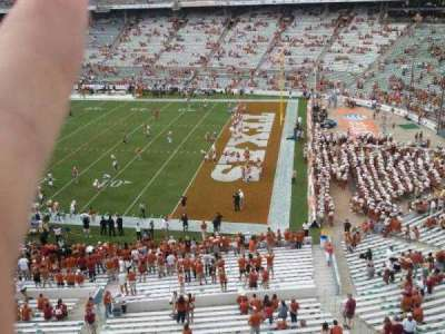 Cotton Bowl, section: 120, row: 2, seat: 1