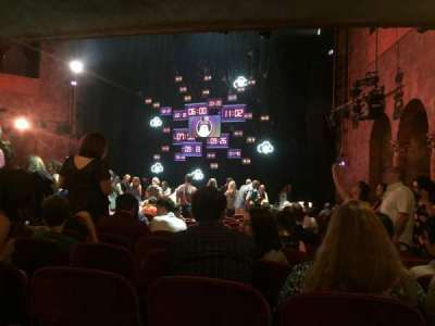 August Wilson Theatre, section: OrchR, row: R, seat: 16