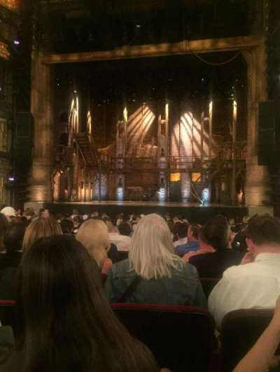 CIBC Theatre, section: Orchestra C, row: T, seat: 114