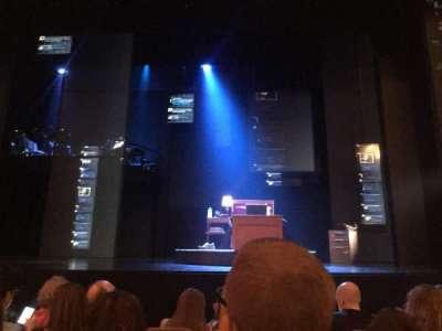 Music Box Theatre, section: OrchC, row: E, seat: 105