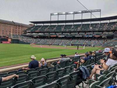 Oriole Park at Camden Yards section 66