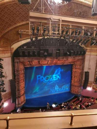 St. James Theatre, section: Balcony L, row: B, seat: 13