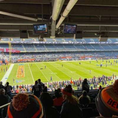 Soldier Field section 242