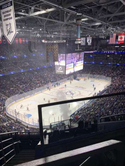 Amalie Arena section 306