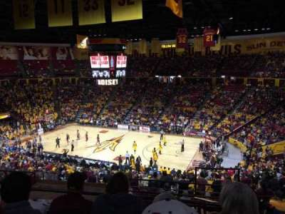 Wells Fargo Arena (Tempe), section: D1, row: 30, seat: 2