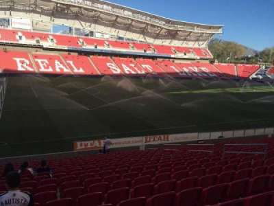 Rio Tinto Stadium section 23