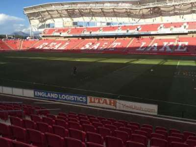 Rio Tinto Stadium section 15