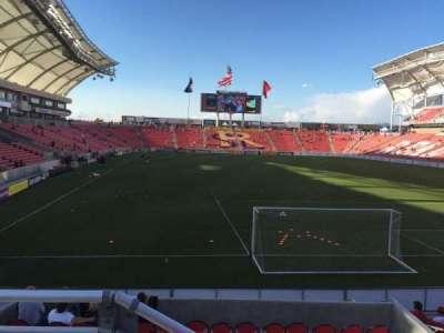 Rio Tinto Stadium, section: 12, row: J, seat: 12