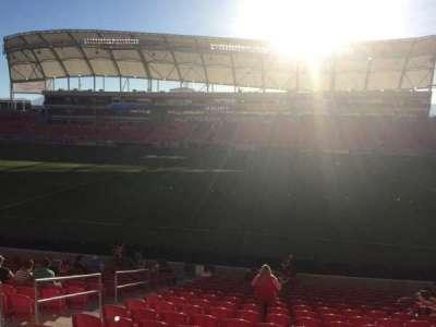 Rio Tinto Stadium, section: 36, row: T, seat: 18