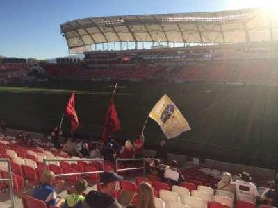 Rio Tinto Stadium, section: 34, row: U, seat: 22