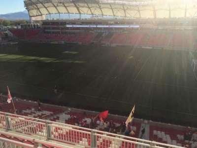 Rio Tinto Stadium, section: 235, row: F, seat: 2