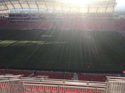 Rio Tinto Stadium, section: 237, row: J, seat: 6