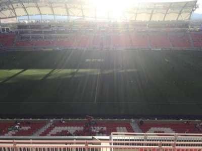 Rio Tinto Stadium, section: 201, row: H, seat: 10