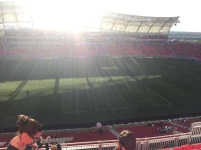 Rio Tinto Stadium, section: 203, row: H, seat: 12